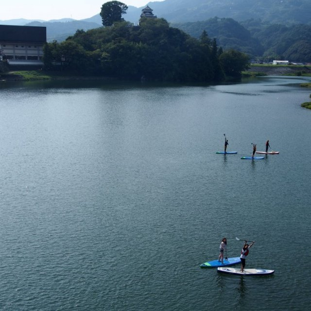Hijikawa Shiromachi SUP (stand-up paddle boarding) Experience