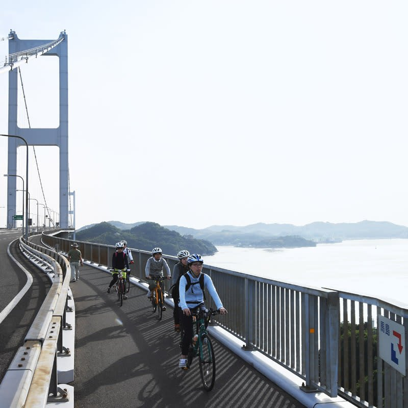 Shimanami Kaido Cycling and Driving Tour in Ehime Prefecture